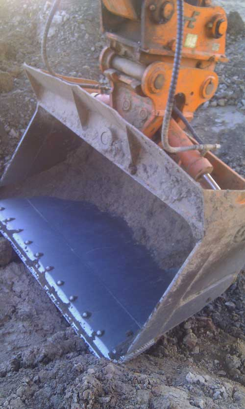 Tilt bucket from OZ Excavator Buckets