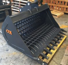 6.0   9.9T 1500mm Rib Style Sieve with GET (2) web